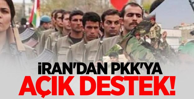 İran'dan PKK'ya açık destek!