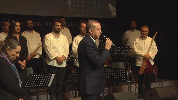 """Cumhurbaşkanı Erdoğan'dan """"Müzik Üniversitesi"""" Müjdesi"""