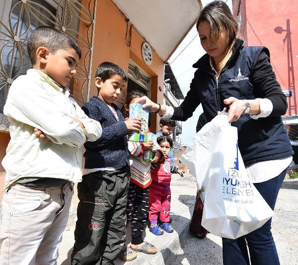 Suriyeli Çocuklar da 'Süt Kuzusu' Projesine Alındı