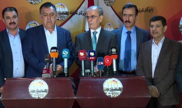 Kerkük Valisi Kerim: Kürdistan Bayrağı İstanbul Ve Ankara'da Göndere Çekiliyorsa, Kerkük'te Neden Çekilmesin