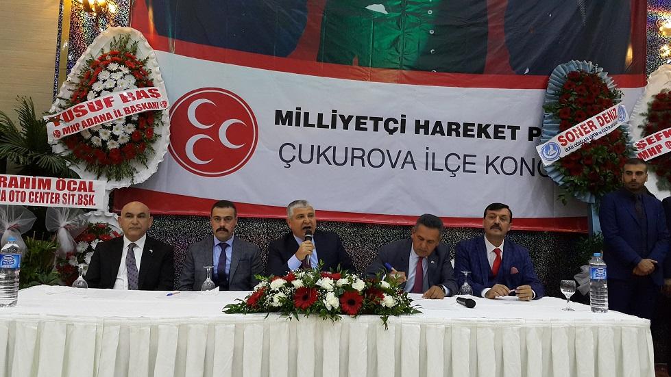 MHP Çukurova'da 'Sertan Duran'la devam' dedi