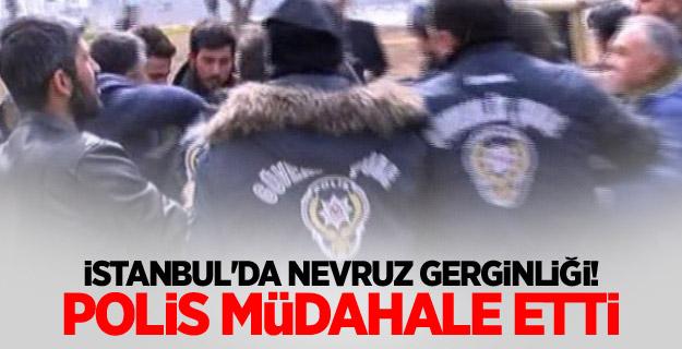 İstanbul'da Nevruz gerginliği! Polis müdahale etti