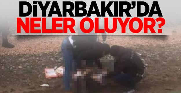 Diyarbakır Nevruz'da sıcak dakikalar! Polis vurdu!