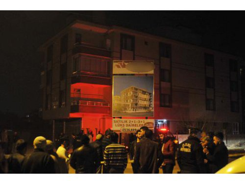İstinat Duvarı Çöken Bina Tedbir Amaçlı Boşaltıldı