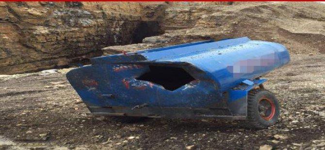 Şırnak'ta Pkk'nın Bombalı Eylem İçin Hazırladığı Su Tankı Ele Geçirildi