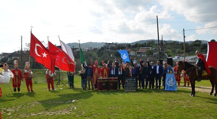 Milas Ülkü Ocakları Nevruz Bayramını kutladı