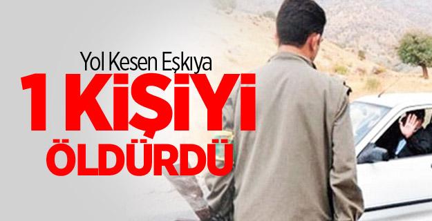 PKK Diyarbakır'da Yol Kesti! 1 Ölü!