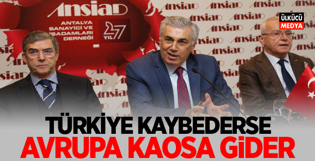 MHP'li Günal: Türkiye Kaybederse Avrupa Kaosa Gider