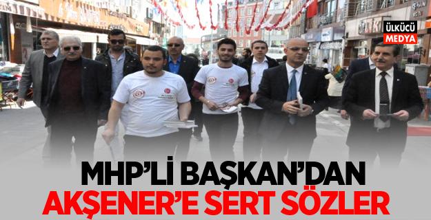 MHP Kocaeli İl Başkanı Aydın Ünlü'den, Meral Akşener'e Sert Sözler