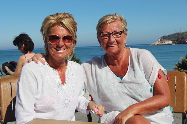 Hollandalılar Kemer'de Mutlu