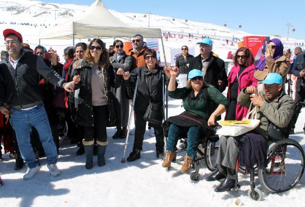 Engelliler, Erciyes Kar Festivalinde Buluştu