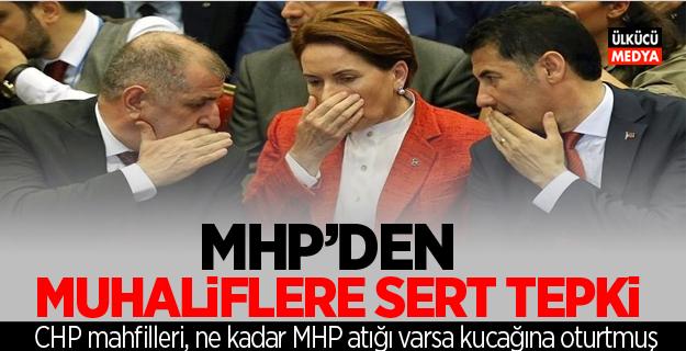 MHP'den Muhaliflere Sert Tepki
