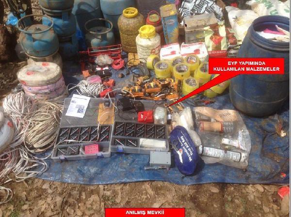 Cudi Dağı'ndan Pkk Sığınağında 1 Terörist Cesedi Bulundu