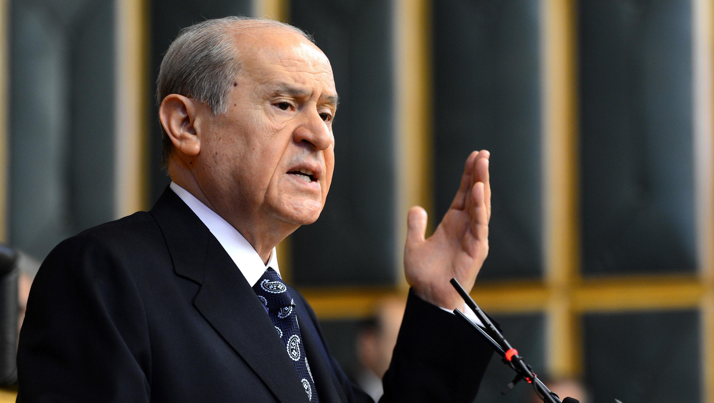 Devlet Bahçeli: Ankara'da Göndere Çekilen Paçavraya Ses Çıkarılmazsa Kerkük Mevzi Kaybeder