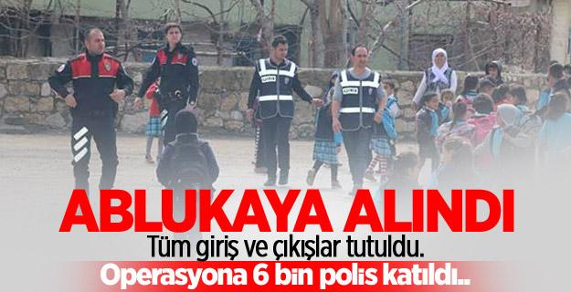 Okulların çevresinde denetimde 576 kişi yakalandı