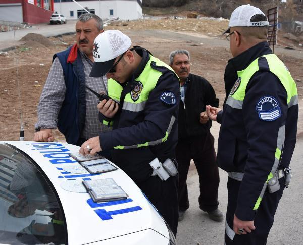 Sivas'ta Kamyon Sürücülerine Ceza Yağdı