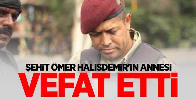 Şehit Ömer Halisdemir'in annesi vefat etti