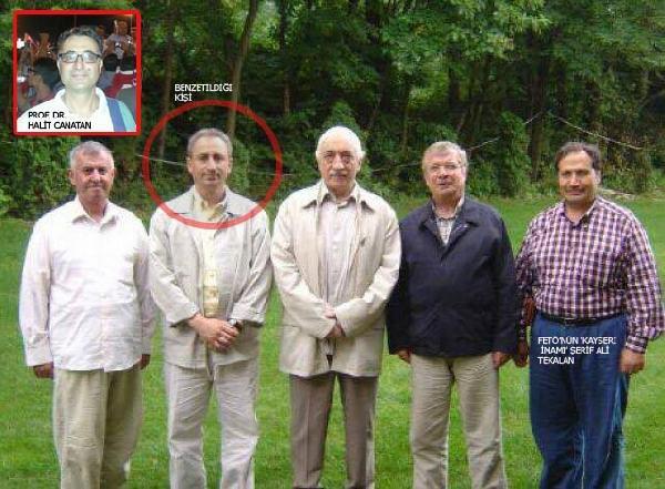 İşte Prof. Dr. Halit Canatan'ı Görevden Aldıran Fotoğraf