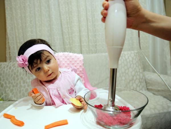 Bebekler, Blender Yüzünden Çiğnemeyi Öğrenemiyor
