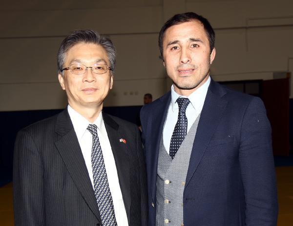 """Japon Büyükelçi Hiroshi Oka Judo Milli Takım Kampını Ziyaret Etti"""""""