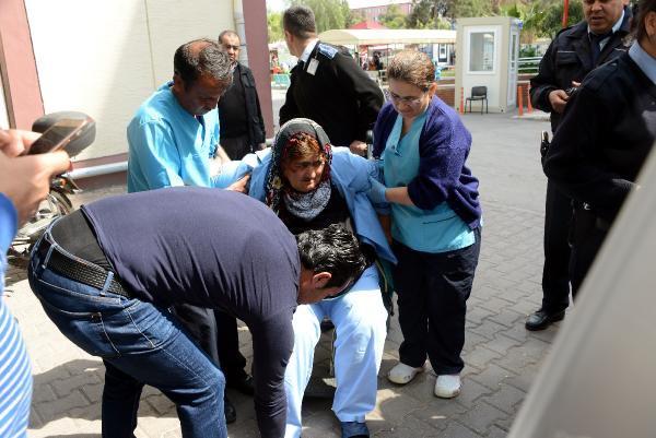 Zihinsel Engelli Kadını Hastane Bahçesine Terk Ettiler