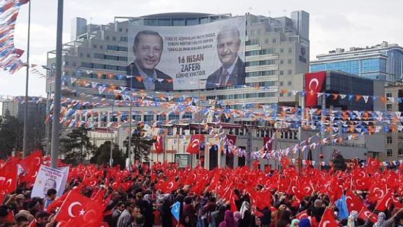 BAŞBAKAN Yıldırım: Bundan Sonra Türkiye'yi Hep Güçlü İktidarlar Yönetecek