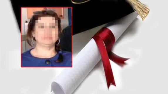 Sahte diplomayla 20 yıl lisede öğretmenlik yaptı...