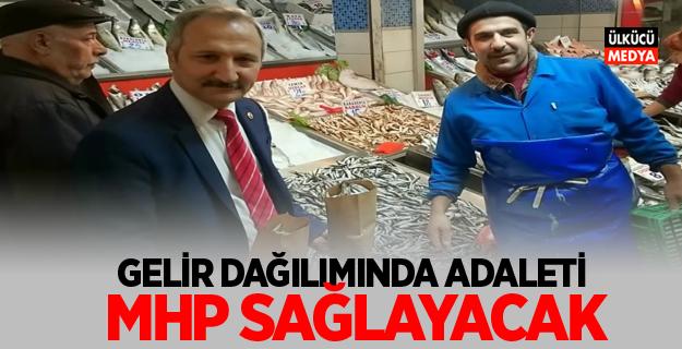 MHP'Lİ YURDAKUL: GELİR DAĞILIMINDA ADALETİ MHP SAĞLAYACAK