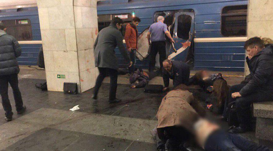 Rusya'da metroda patlama! Ölü ve yaralılar var
