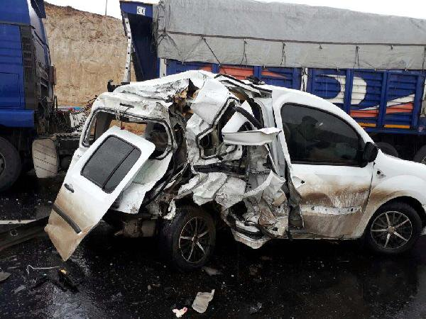 Mardin-Diyarbakır Karayolunda Kaza: 1 Kişi Öldü, 2 Kişi Yaralandı