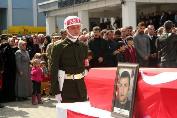 Şehit Korucu, Törenle Uğurlandı