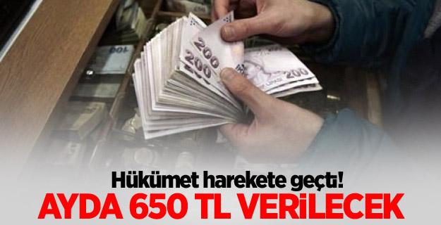 Hükümetten iş arayanlara 650 TL!