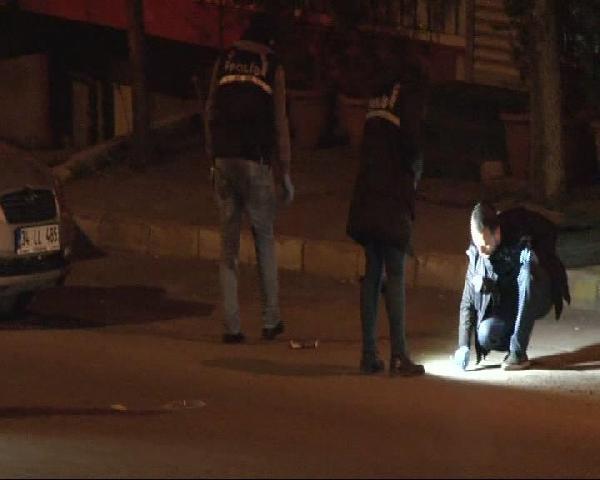 Kavgaya Müdahale Eden Polise Ateş Edildi: 1 Yaralı