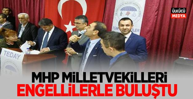 MHP Milletvekilleri Etimesgut'lu Engellilerle Buluştu