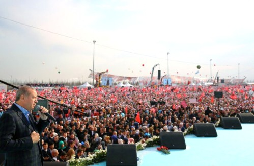 """Erdoğan: """"Batı Bile """"SESSİZ DEVRİM"""" dedi"""""""