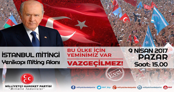 MHP Yenikapı İstanbul mitingi