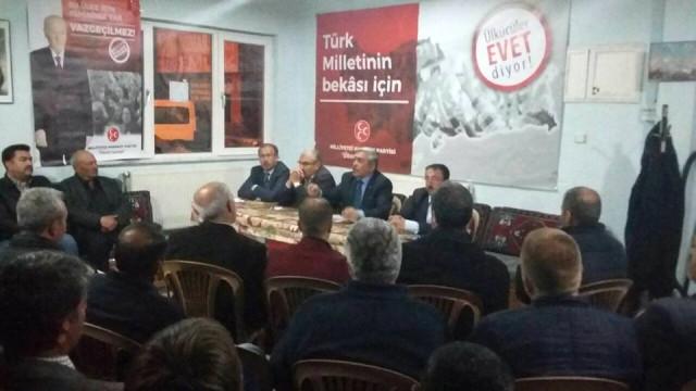MHP Melikgazi 'Evet' Kampanyasını Sürdürüyor