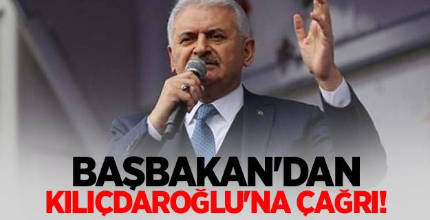Başbakan'dan Kılıçdaroğlu'na çağrı!