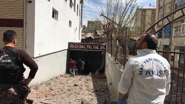 Diyarbakır'da ki  Patlamanın nedeni araştırılıyor