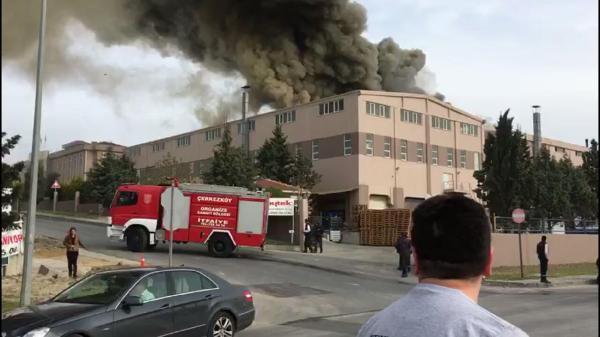 Çerkezköy'de Bir Fabrikada Patlama Meydana Geldi