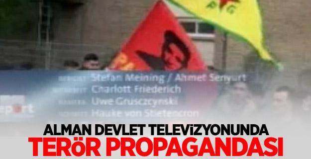 Alman devlet televizyonunda terör propagandası