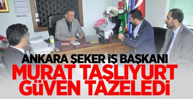 ŞEKER İŞ, Murat TAŞLIYURT'la devam dedi.