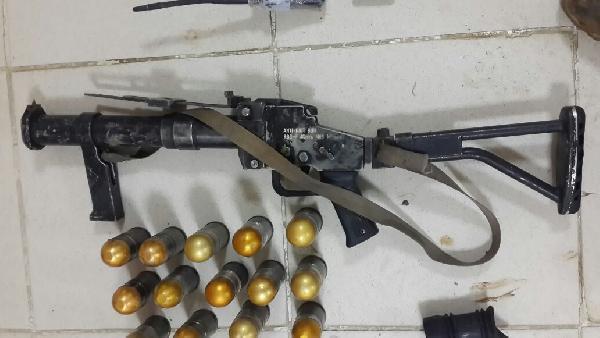 Bir Teröristin Cesediyle 2 Kalaşnikof Piyade Tüfeği Ele Geçirildi