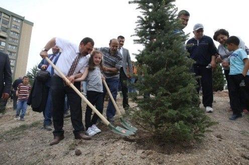 Etimesgut'a 55 Dönümlük Yeni Orman Kuruluyor
