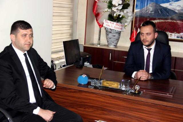 MHP Kayseri İl Başkanı Ersoy'dan Şehit Aileleri'ne Ziyaret