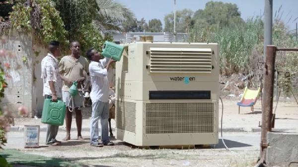 Artık Havadan Su Üretilecek...