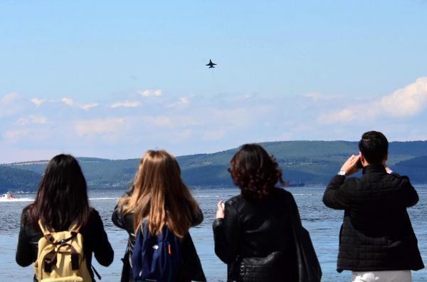 Solotürk'ten Çanakkale'de, 23 Nisan Provası