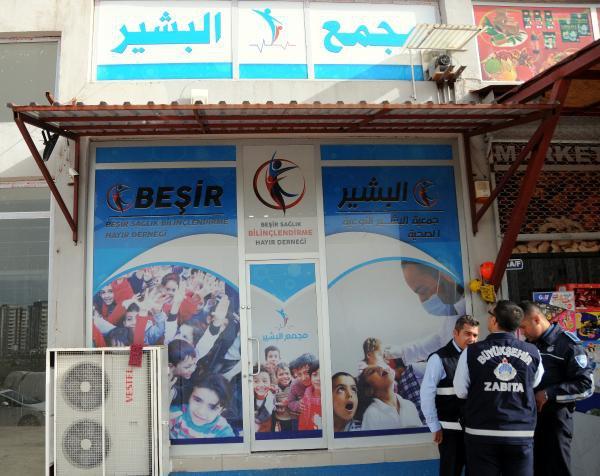 Suriyeliler'in Ruhsatsız Polikliniğine Baskın