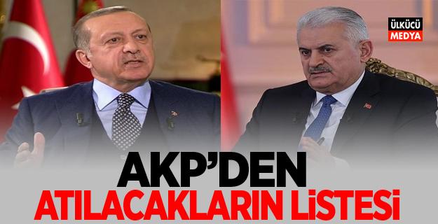 AKP'den Atılacakların Listesi