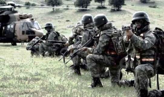 Diyarbakır Kulp'ta 2 PKK'lı ölü ele geçirildi
